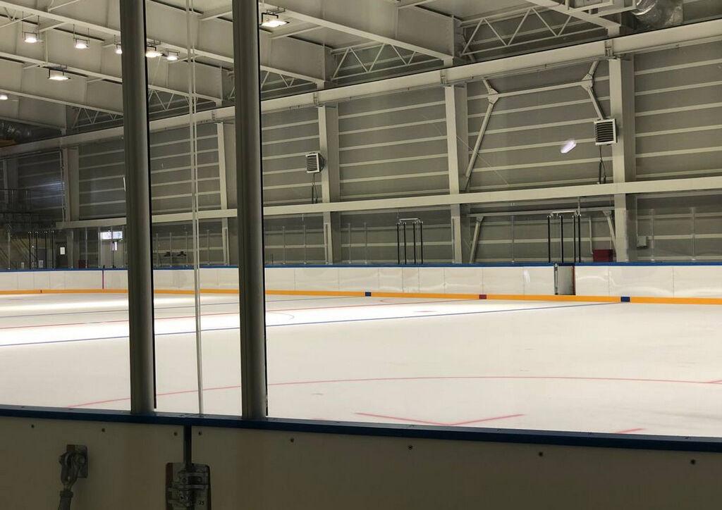 Наморозка финишного слоя льда